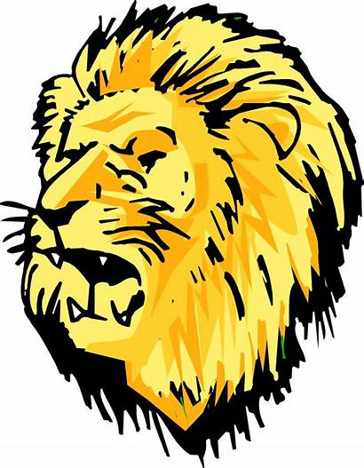 Lion Head Clipart Cartoon Face Clip Library