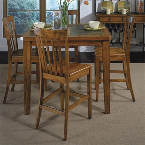 dining tables gathering height dining table 28034 harmony riverside 2090