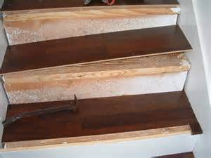 Installing Laminate Stair Treads