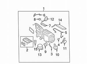 Ford Edge A  C Evaporator Core And Case Assembly  Edge  Mkx