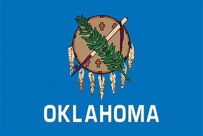 Oklahoma Flag State Flags Usa Ok Learning