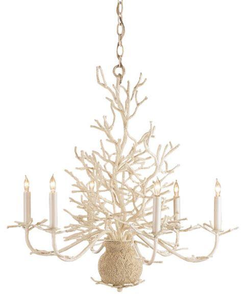 Coral Chandelier currey co company seaward chandelier 9218 white