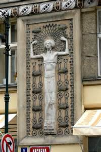 Prague Art Nouveau Buildings