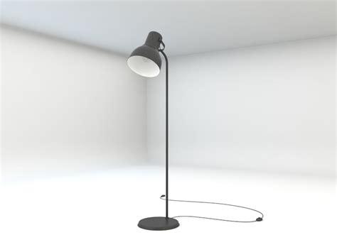 Ikea Hektar Floor Lamp 3d 3ds