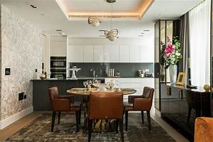 Beautifully, Designed, Open, Plan, Kitchen, Designed, By, Robet, Cavalli, The, Kensington, Collection, At