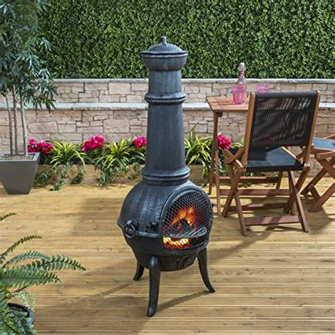 Large Cast Iron Chiminea - bbq sale charcoal gas portable bbqs reviews tips