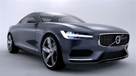 volvo concept coupe unveiled youtube