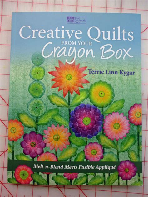 quilt whimsy coloring fabric  melted crayons