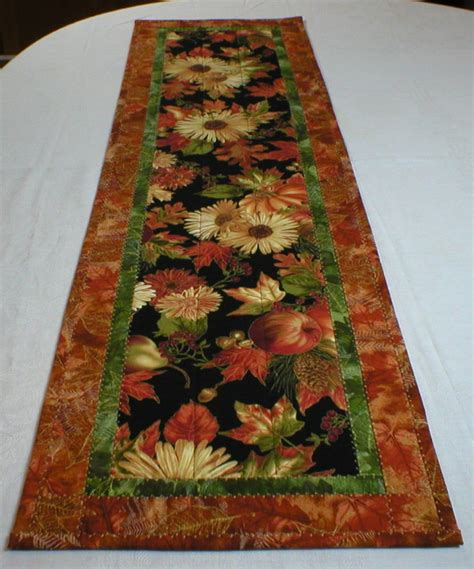 quilted table runners handmade quilted table runner