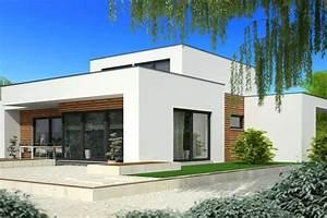 tarif maison contemporaine toit plat mc immo With delightful maison toit plat en l 3 photo de maison en pierre moderne toit plat