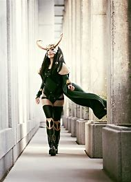 Thor Lady Loki Cosplay