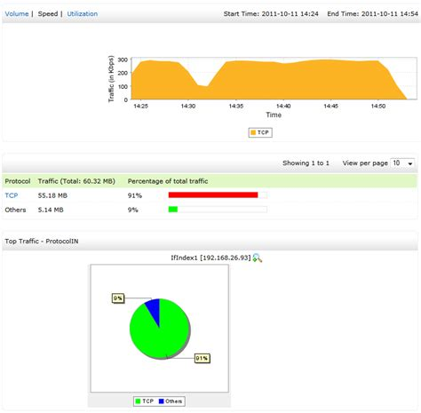 protocol  application monitoring netflow analyzer