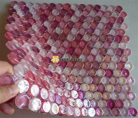 pink mosaic tiles promotion shop for promotional pink