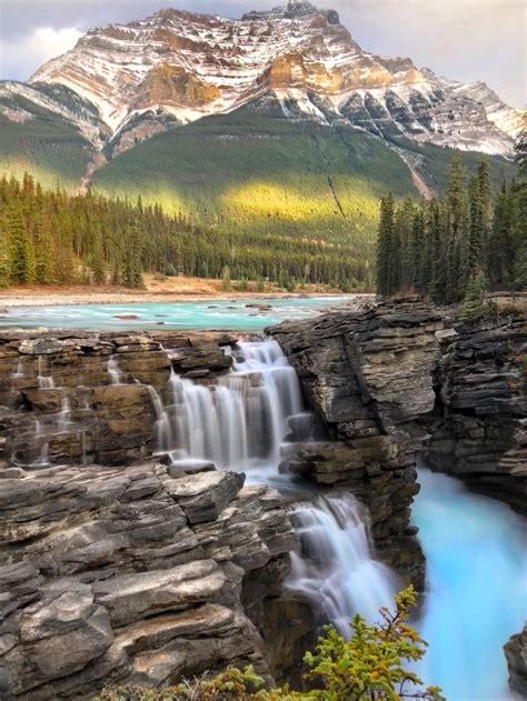 Pachamama Athabasca Falls Jasper Alberta Canada