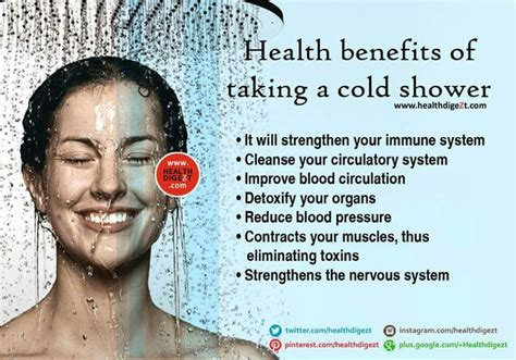 Benefits Of Cold Showers by Benefits Of Cold Shower Sustainability Challenge