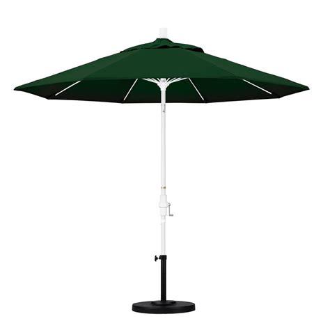 tilting patio umbrella california umbrella 9 ft fiberglass collar tilt patio