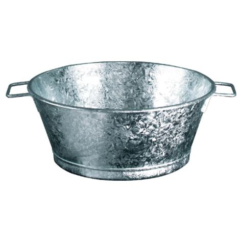 lagrange cuisine bassine galvanisé 60 cm 54 litres