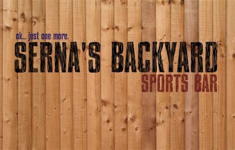 Serna's Backyard Sports Bar