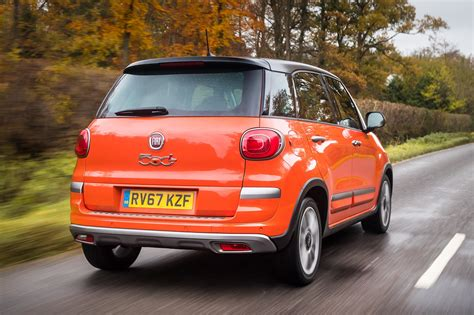 fiat 500l cross review driving parkers