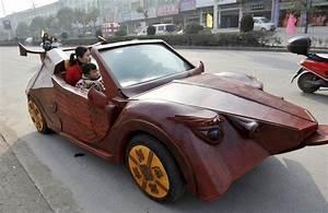 Look Auto : chinese builds dragon look alike wooden car says it s his vision of a sportscar autoevolution ~ Gottalentnigeria.com Avis de Voitures