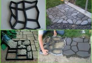 cheap diy way to decorate your backyard make your own patio design by carving it out on wood