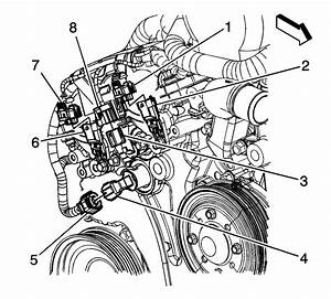 Repair Instructions - Camshaft Position Sensor Replacement - Bank 1  Right Side  Intake