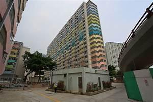 In The Sky  Choi Hung Estate  Aka Rainbow Estate Kowloon Hk