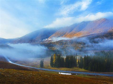 Kanas Lake Xinjiang China Travel Photo Hd Wallpaper 03