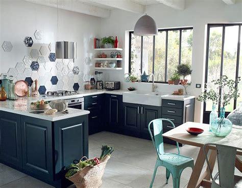 cuisine bleu marine castorama cuisine candide bleu nuit une cuisine