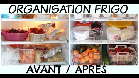 organisation astuces  rangement de mon frigo youtube