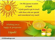 Ugadi Greetings For Someone Special Free Ugadi eCards