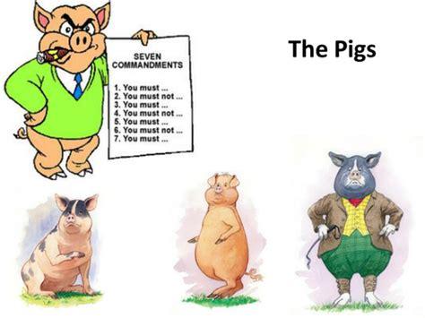 Animal Farm Character Summaries Of The Pigs, Clover
