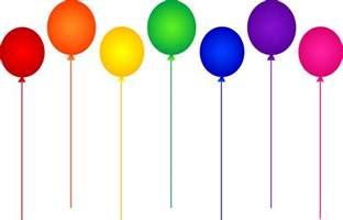 Birthday Balloons Clip Art Free