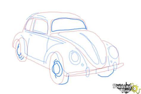 draw  volkswagen beetle drawingnow