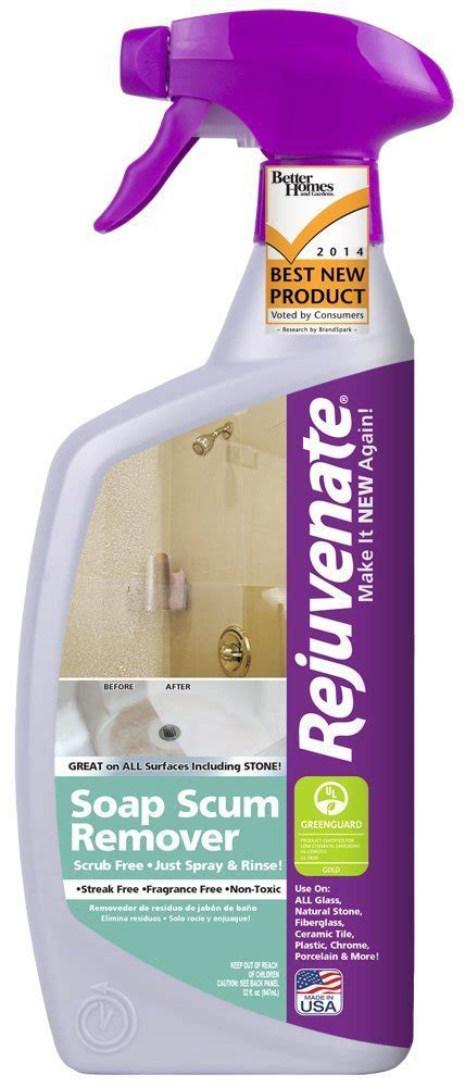 amazoncom rejuvenate  oz soap scum remover health personal care