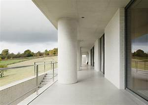 """House by David Chipperfield designed as """"large earthwork"""""""