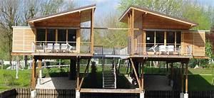 Vente Chalet Bois Habitable : chalet occasion pas cher vente terrain avec mobil home maison bois passive positive ~ Melissatoandfro.com Idées de Décoration