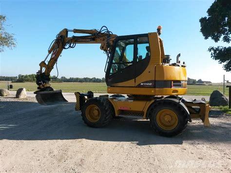 hydrema     uthyres wheeled excavators  rent