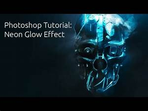 shop Tutorial Smoky Neon Glow Effect