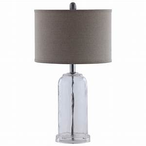 coaster table lamps glass base table lamp with white shade With wood base floor lamp by coaster furniture