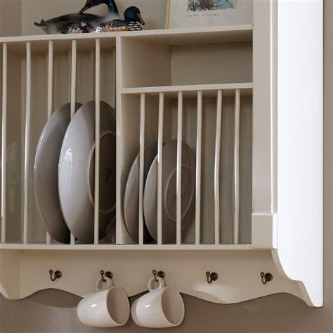 wall mounted plate rack lyon range
