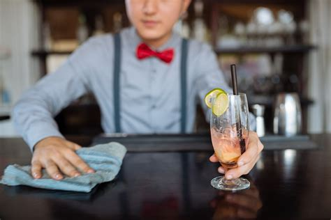 bar cleaning checklist template  servicemaster