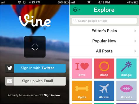 share apps on iphone twitter launches vine video sharing app for iphone Share