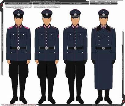 Ss Uniforms Allgemeine Deviantart Feuerschutzpolizei M32 King