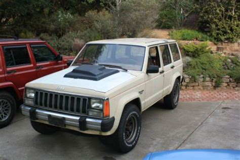 supercharged jeep cherokee find used supercharged 1984 jeep cherokee 4 door 2 8l 4wd