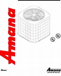 Download Amana Air Conditioner Remote Condensing Unit