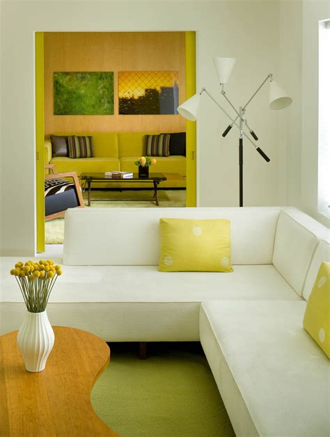 Spectacular Yellow Sofa Decorating Ideas