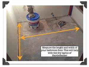 How to install bathroom floor tile part 3 dry fitting for How to measure a bathroom for tiles