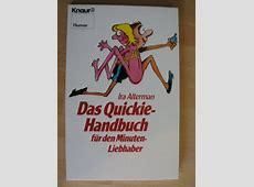 Das QuickieHandbuch Ira Altermann Knaur TOP Comic