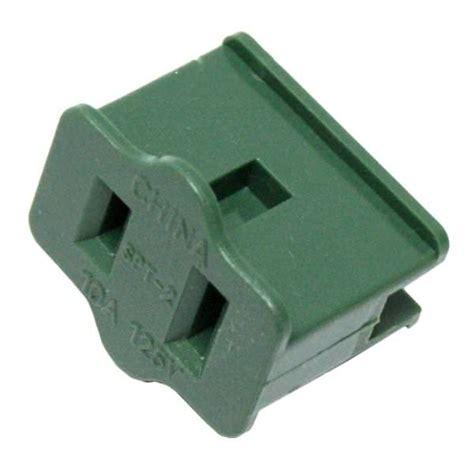 action lighting 00106 green female polarized 10 amp zip